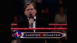Just had to point out how British this ring announcer is.